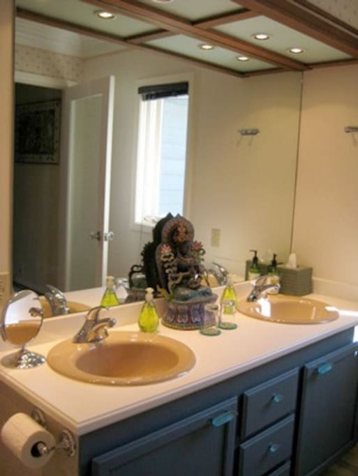 Double Sinks in Room 3 private bathroom