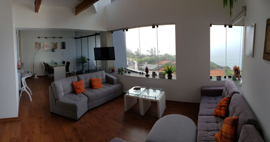 SeaSide view Duplex in the heart of Miraflores