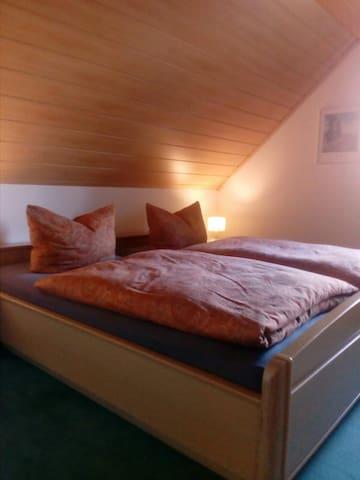 2m x 2m Doppelbettzimmer
