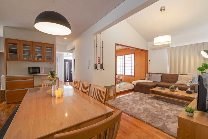 Dinning and Living Room/Japanese Tatami Room