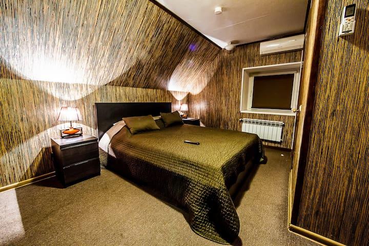Уютная комната в стиле саванны около м. Дубровка - Moskva - Rumah
