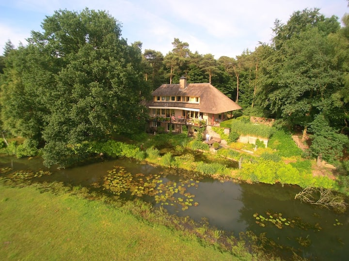 Stay at beautiful spot in Ommen