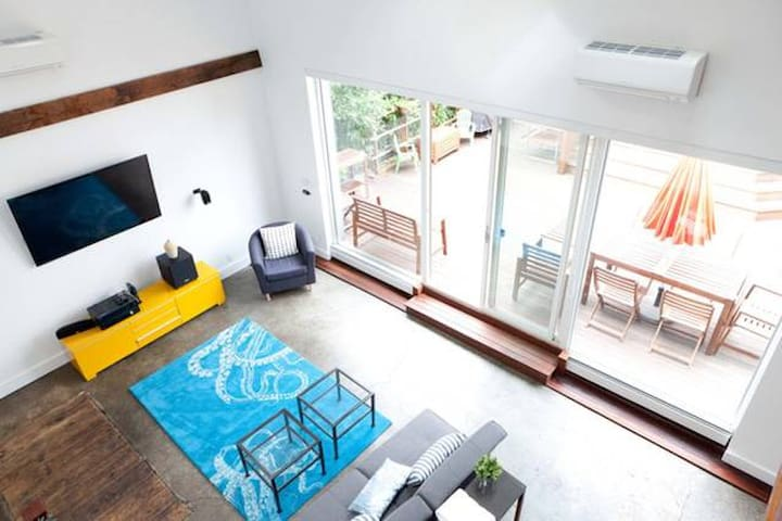 Sunny Ditmas Park Carriage House (Events Listing)