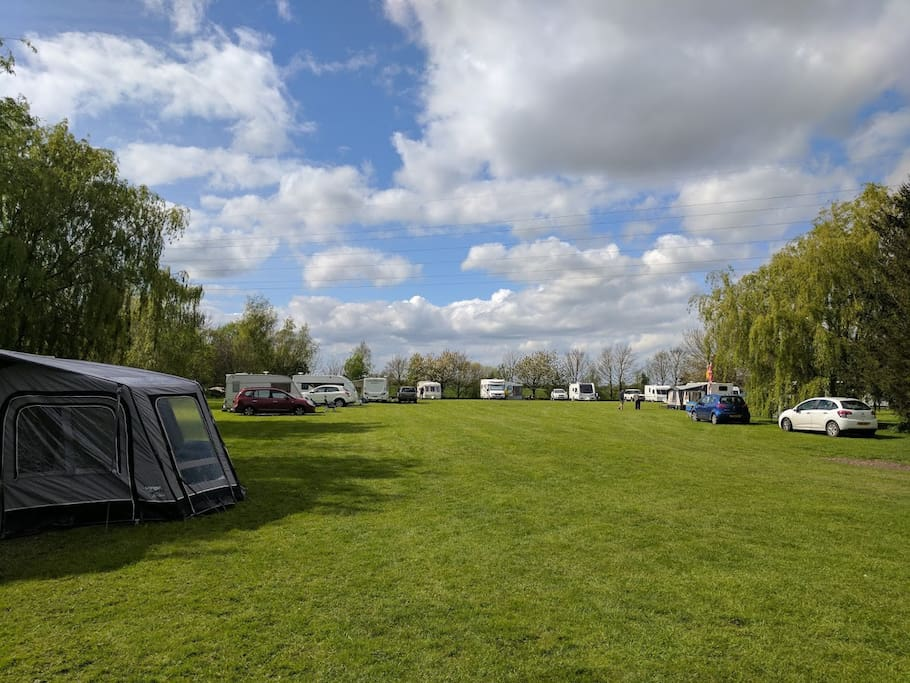 Based at Kantankye Camp Site in the Lincolnshire countryside, just 5 miles from Skegness. Lots of space for children and pets to play in a secure setting.