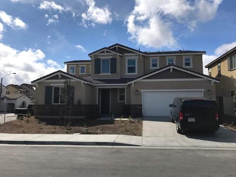 Big new house in Southern California