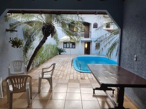 Inteiro 3 suites+piscina+tranquilidade+segurança