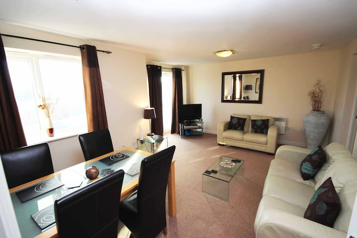 Spacious 2 bed apartment (F1) - Newcastle upon Tyne - Apartment