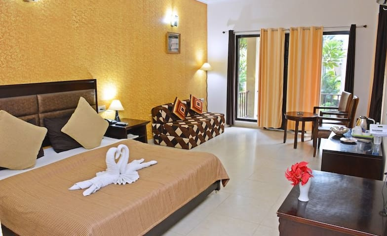 Beautifully designed & spacious rooms-Tiger Den