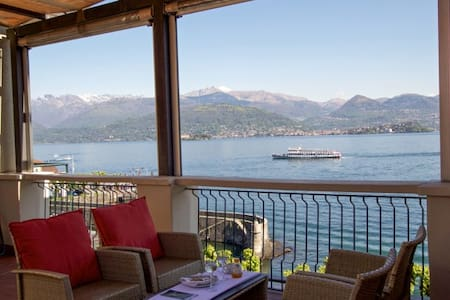 holiday home stresa with terrace - Stresa - Apartment