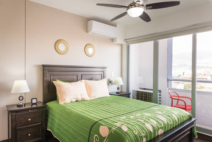 Luxury, Prime location.  A/C  on both bedrooms