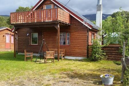 Koselig hytte i Skibotn