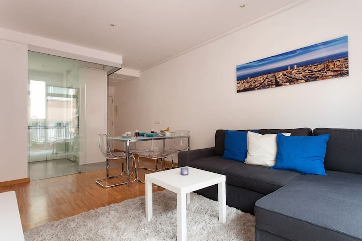 DOUBLE ROOM with TERRACE in BCN CENTRE - Barcelone - Appartement