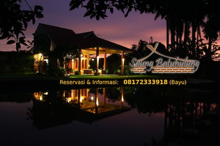 Saung Batuhulung - Home Stay dan Guest House - Bogor Barat