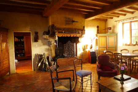 Belle maison ancienne - Villaines-sous-Lucé - Bed & Breakfast