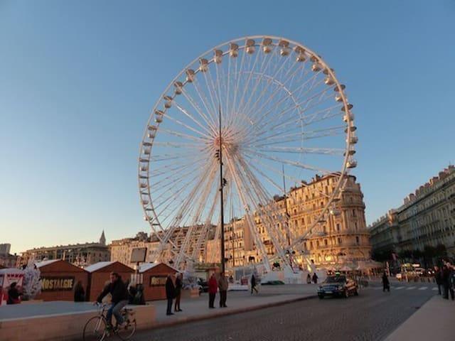 Bel Appartement 50m Vieux Port - Marseille - Apartment