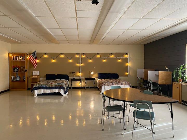 Schoolhouse B&B  Room #2 (family room)
