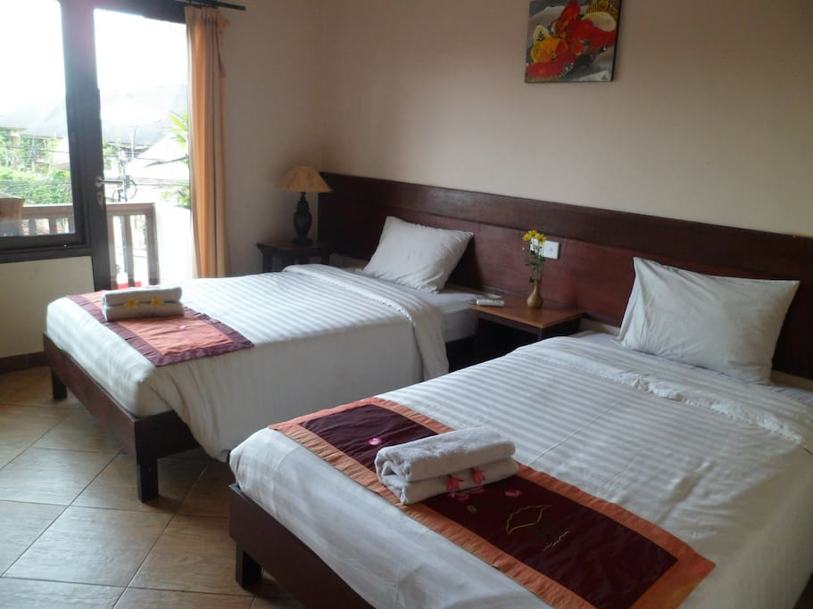 twin bed for 2 guest