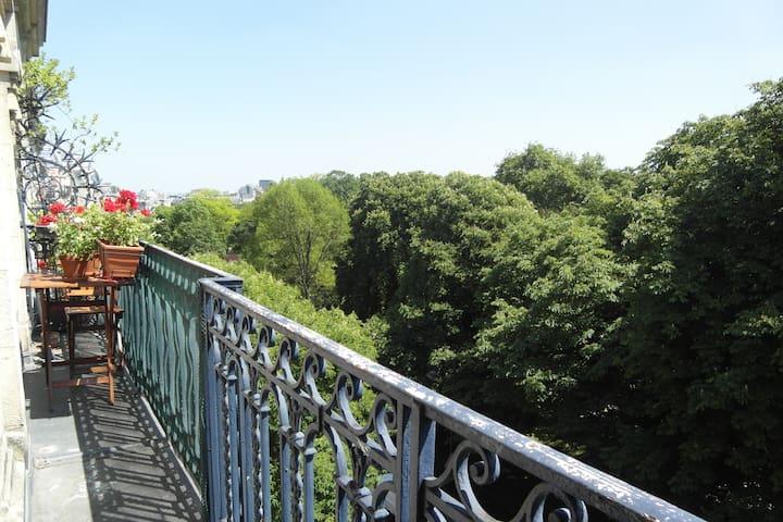 Trees & Light@Paris Buttes Chaumont - Paris - Apartment