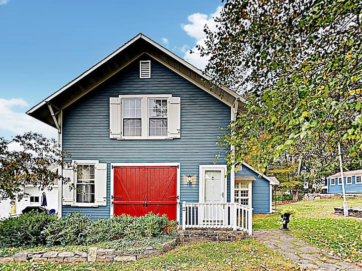"New Listing! New England ""Firehouse Cottage"""