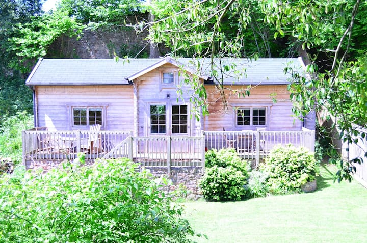 Log Cabin near Wells, Somerset