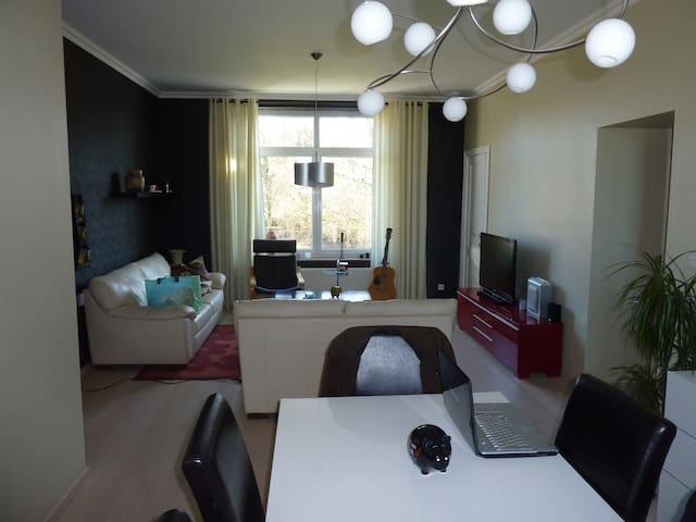 appartement 2 chambres de 80 m² - Grâce-Hollogne - Apartment