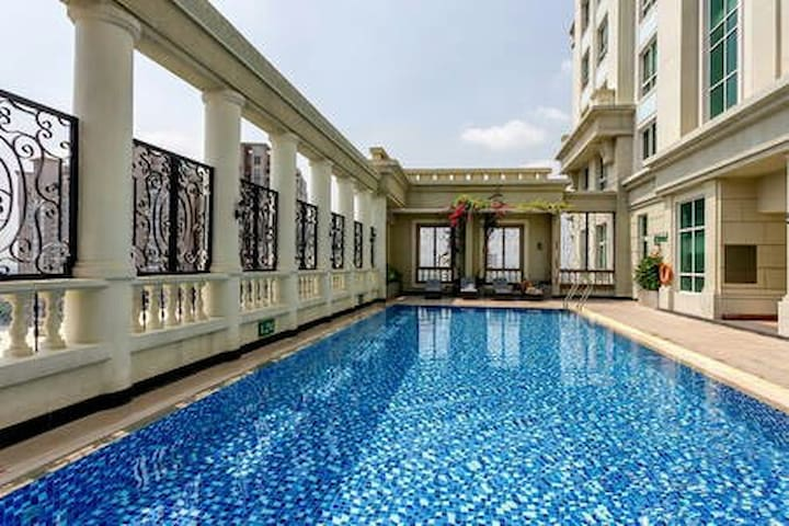 5* 1BR Apart City Center + Free Pool + SIM3G - Ho Chi Minh