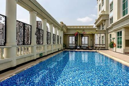 5* 1BR Apart City Center + Free Pool + SIM3G - Ho-Chi-Minh-Stadt