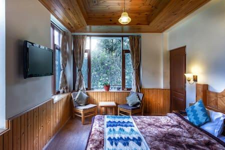 Room with mountain view | Moksha Cottage