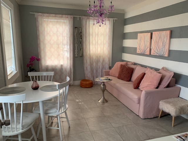 COZY & CUTE 2 BEDROOMS CONDO, 3MIN FROM DOWNTOWN