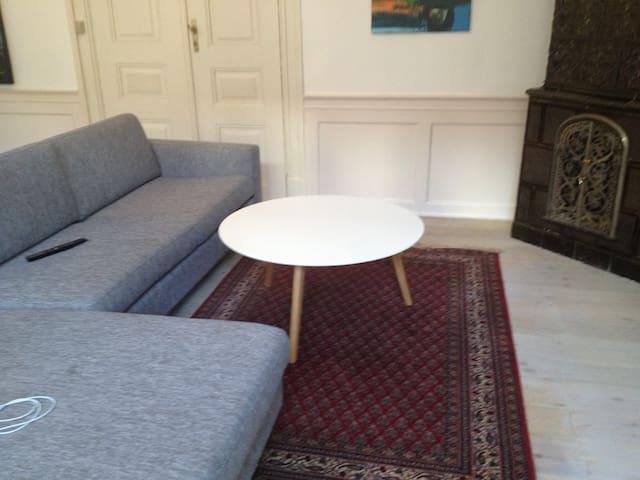 Gammel herskabslejlighed - Viborg - Apartamento