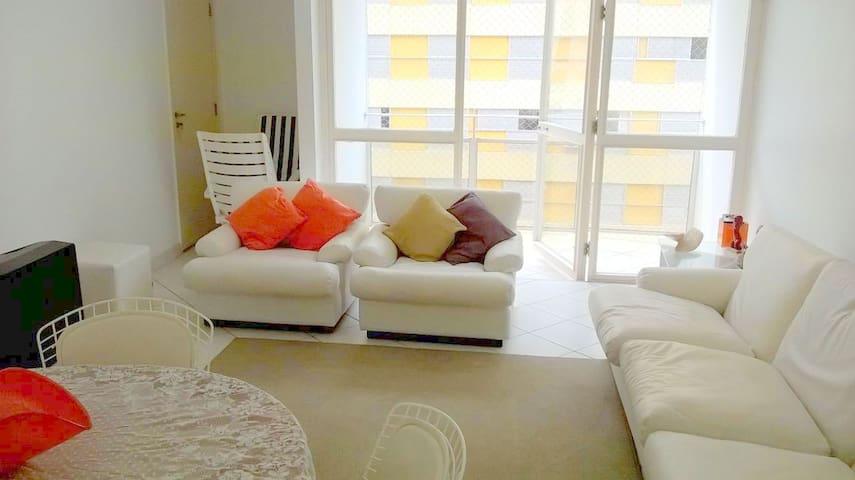 Apto Pitangueiras - 3 quartos - 7 pessoas - Guarujá - Apartment
