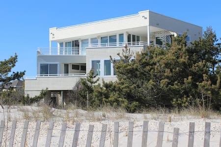 BEST VIEW ON LBI! Holgate oceanfront designer home