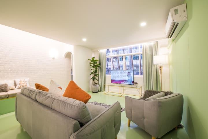 PL11 ★GREEN★3BD, spacious living- 1min to Platinum