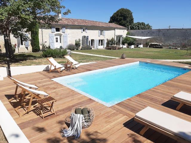 Demeure de Charme avec piscine privée
