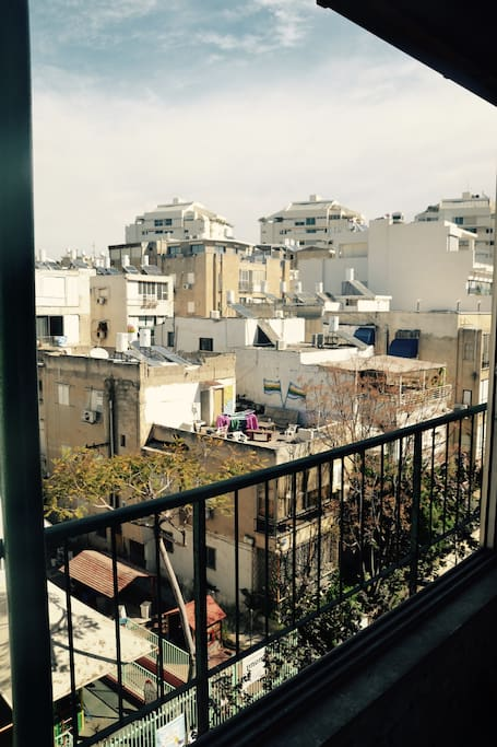 Amazing vue on TLV rooftops