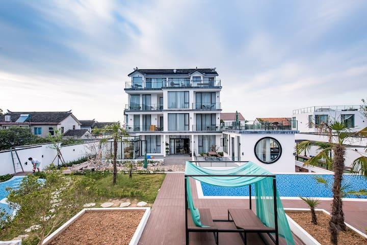 太湖西山岛 伴舍概念民宿C栋·北欧现代泳池别墅