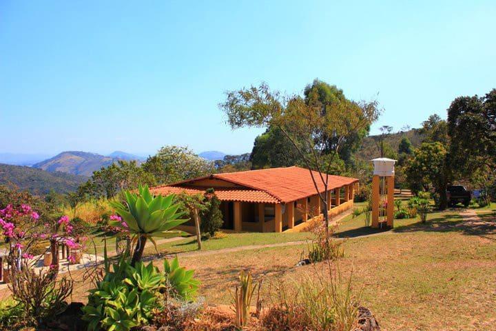 Reserva natural Fazenda Queda D'Agua. 30mim de BH