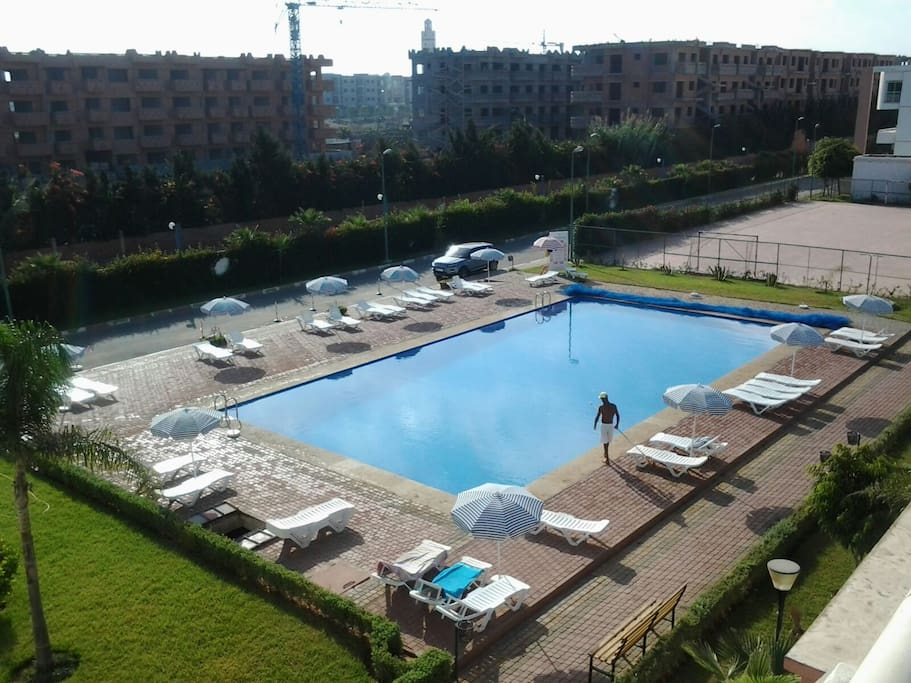 Agr able appartement haut standing avec piscine - Residence haut standing vero beach ...