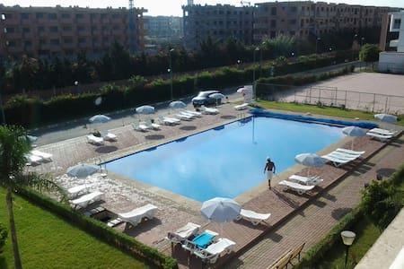 Agréable appartement haut standing avec piscine - Mohammedia - Appartement