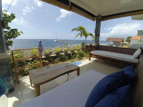 Amed beachfront paradise villa