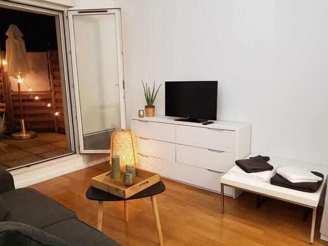 Studio avec Terrasse privé (300m Champs Elysees)