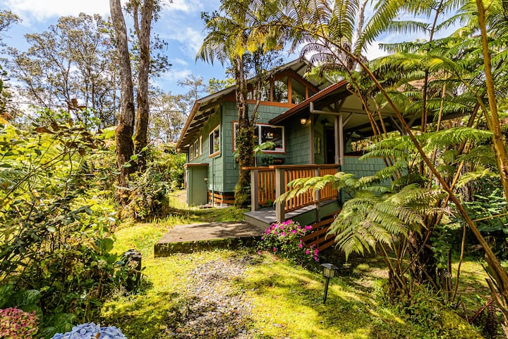 Darling, Private Cottage Near Hawaii Volcanoes Nat'l Park