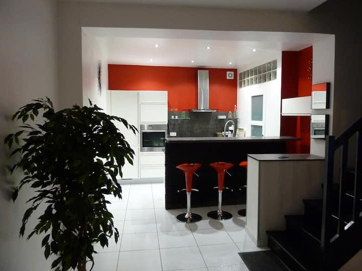 Chambre n°1 proche centre ville d'Amiens
