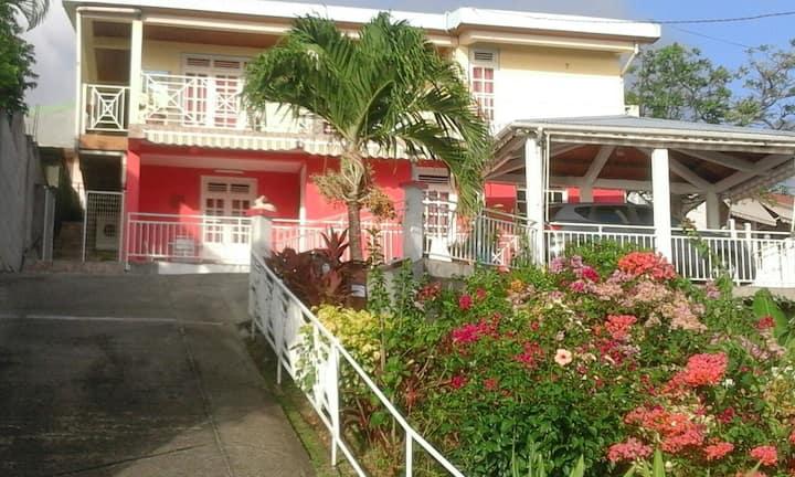 Bottom beachfront villa