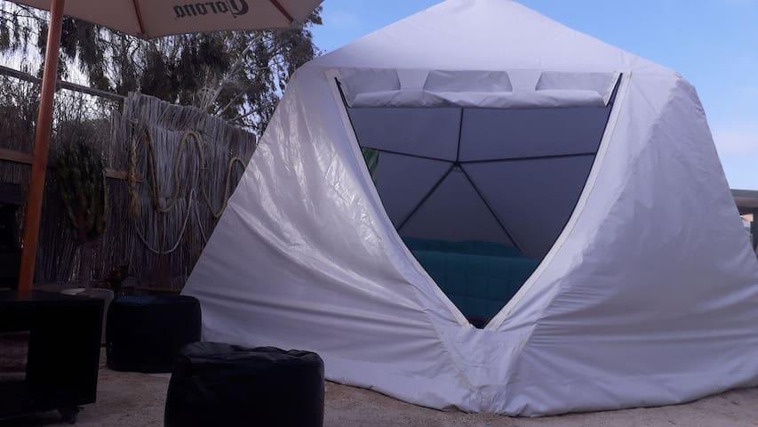 domo glamping 8 ,playa loreto