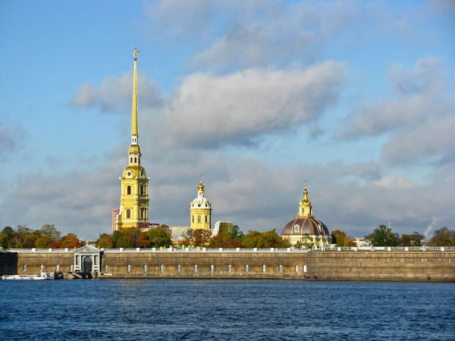12 minutes to  Peter and Paul Fortress