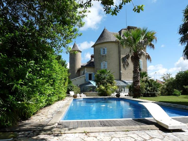 Charming castle close to Pau!