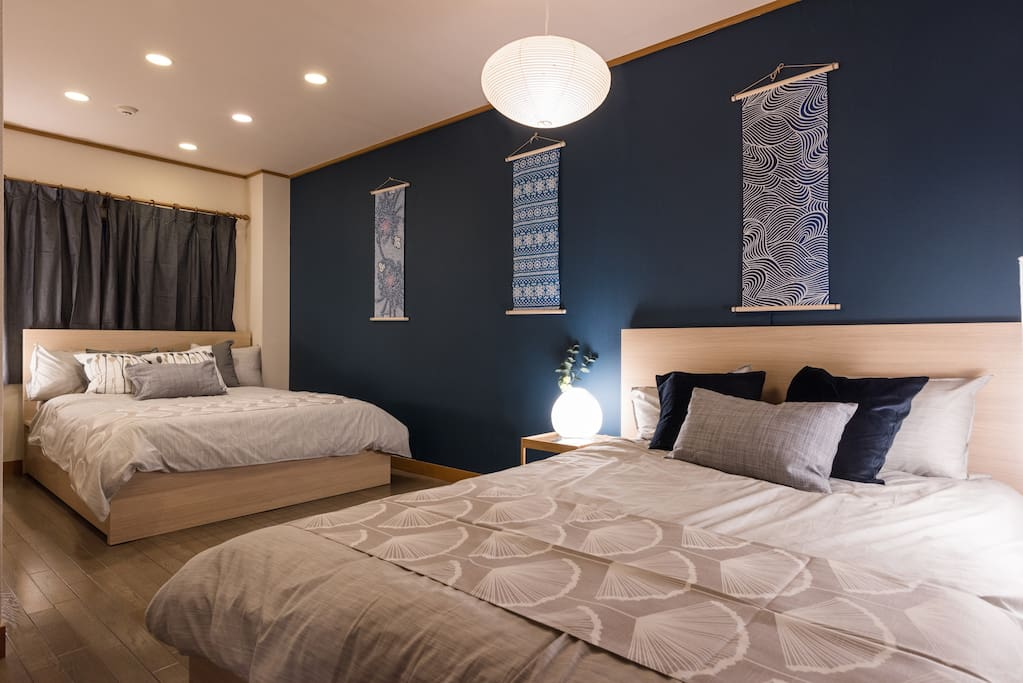 Apartment 2: Japanese taste with two beds