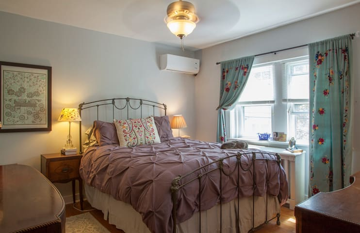 Charming cozy home in West Mt Airy Philadelphia - Philadelphia - Casa