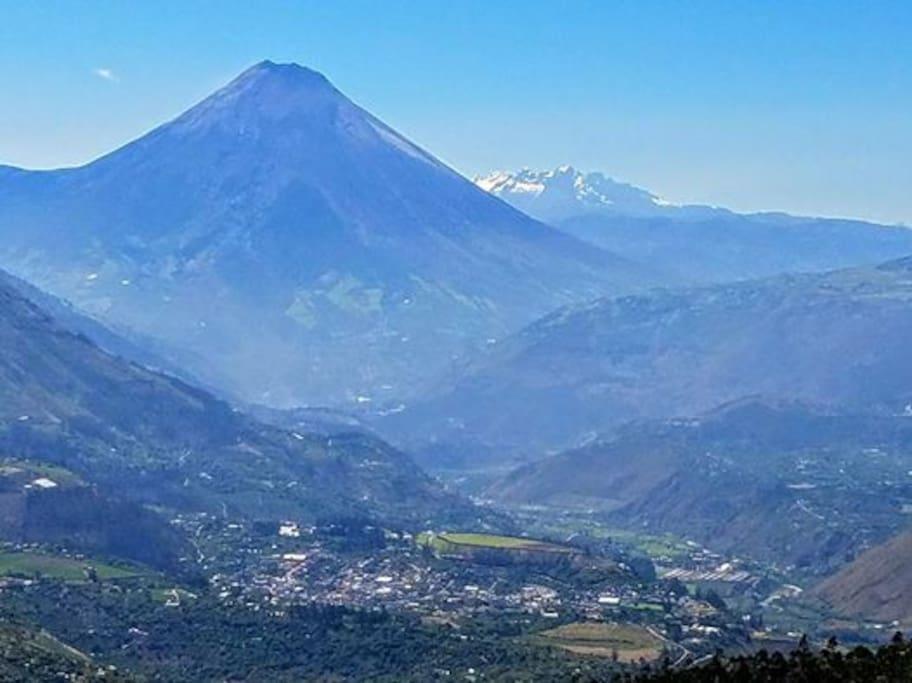 Vista panorámica desde el mirador de La Montaña